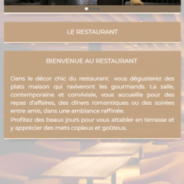 Application mobile Android & IOS pour restaurant, snack, pizzeria, avec réservation