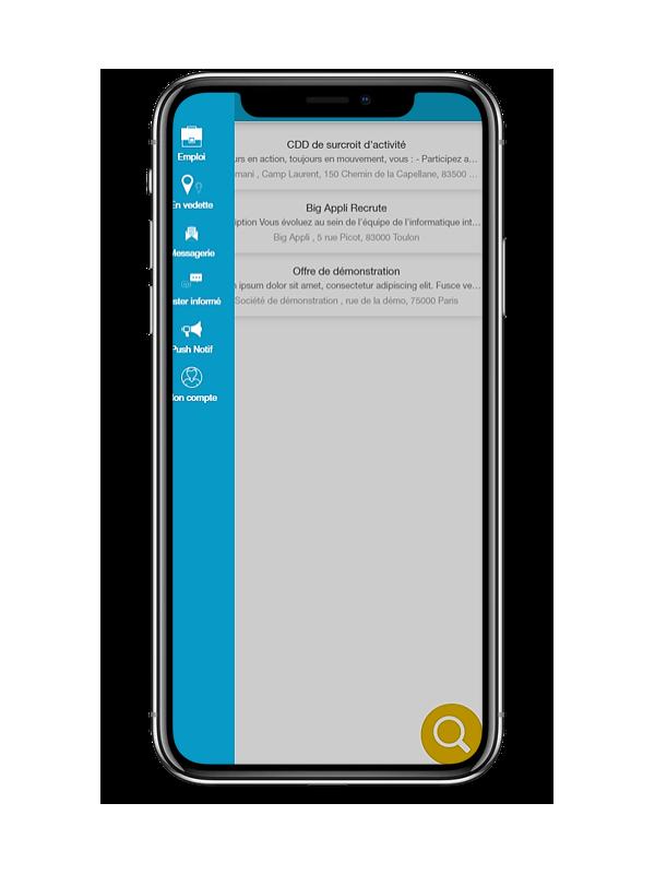 Application Mobile Publication D Offres D Emploi Big Appli